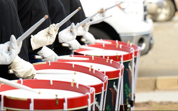 Drum Sticks Military Snare Drums