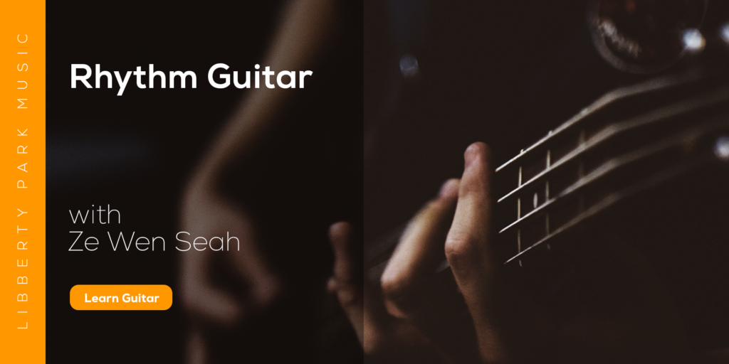Online Guitar Course Rhythm Guitar