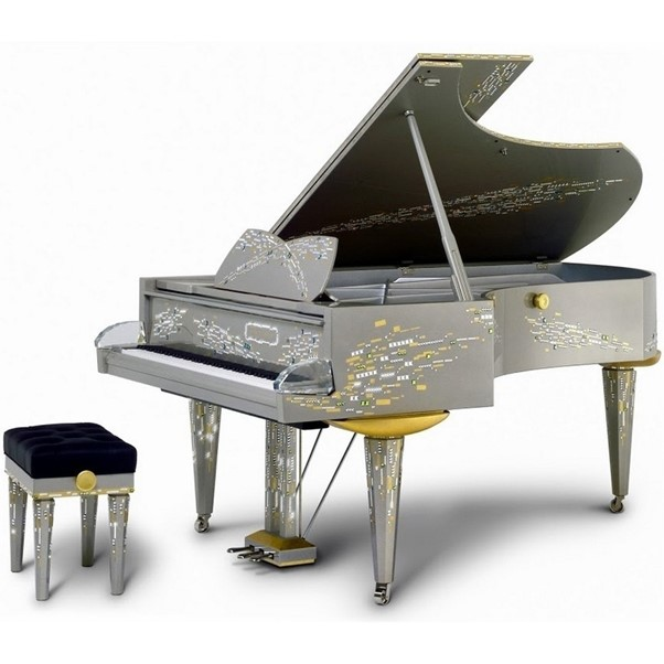 10 coolest pianos for the cool (and rich)